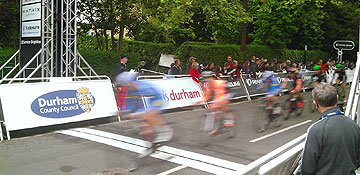 Teams line up for Tour Series - Durham City round (Tues 31 May)