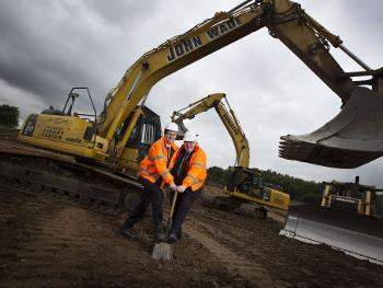 Forrest Park development - Simon Henig and Cllr Neil Foster