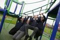 Stanley Crook play space Launch of countywide play space refurbishment scheme