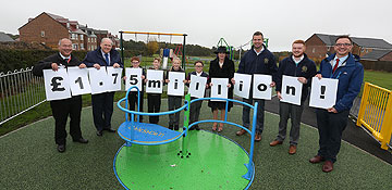 £1.75 million investment in playtime