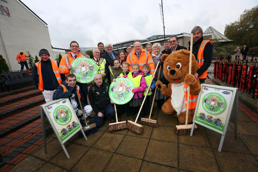 Op Spruce Up launch