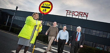 Lollipop invention lights the way for safer crossing patrols