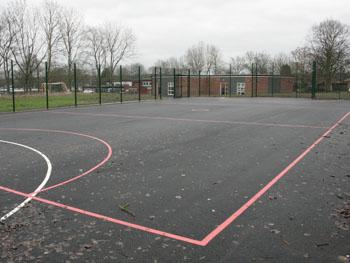 Outside games area