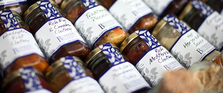Mouthwatering preserves
