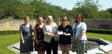 Crematorium recycling scheme raises thousands for charity