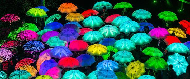 Lumiere 2017 - umbrella - mobile version