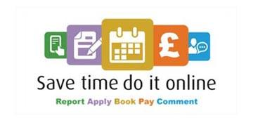 Save time...do it online