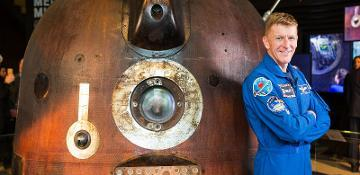 Tim Peake's spacecraft to land in Shildon