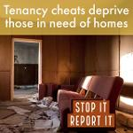Tenancy fraud poster