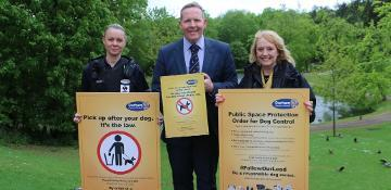 Fixed penalties issued to 30 dog owners through new order