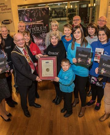 Chairman honours Kynren volunteers
