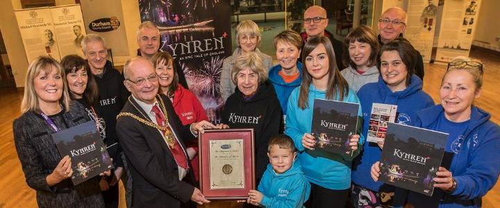 Chairman honours Kynren volunteers - mobile version