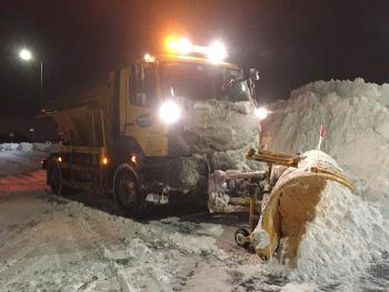 Weather update 7 - Medomsley gritter
