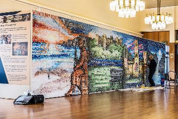 Artwork celebrating Durham unveiled