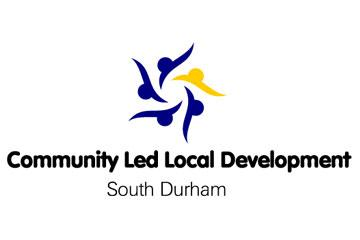 South Durham Community Led Local Development CLLD logo