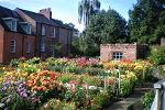 Durham in Bloom Durham Cathedral – the cutting garden - September 2018