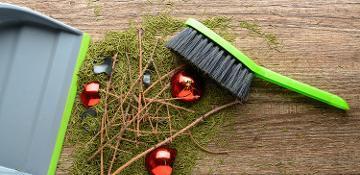 Christmas rubbish