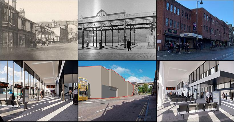 Durham Bus Station Montage