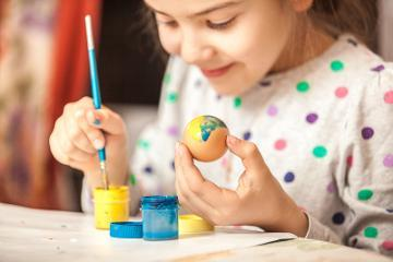 Library Easter activities