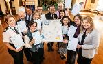 Businesses and partner organisations joined us to sign the pledge March 2019