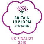 Britain in Bloom with the RHS: UK Finalist 2019 logo