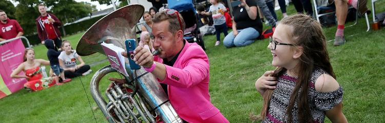 Brass festival brings the party to people
