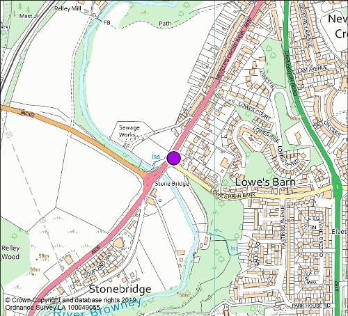 Low Barnes Bank camera location map