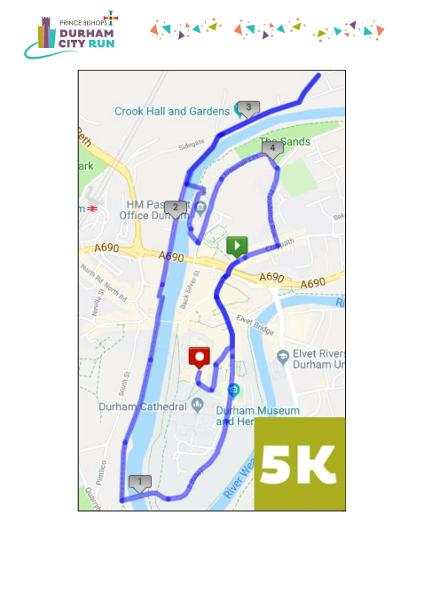 DCRF amended 5k route