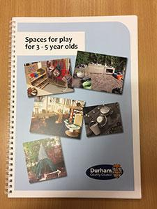 Spaces for Play for 3-5 year olds - book