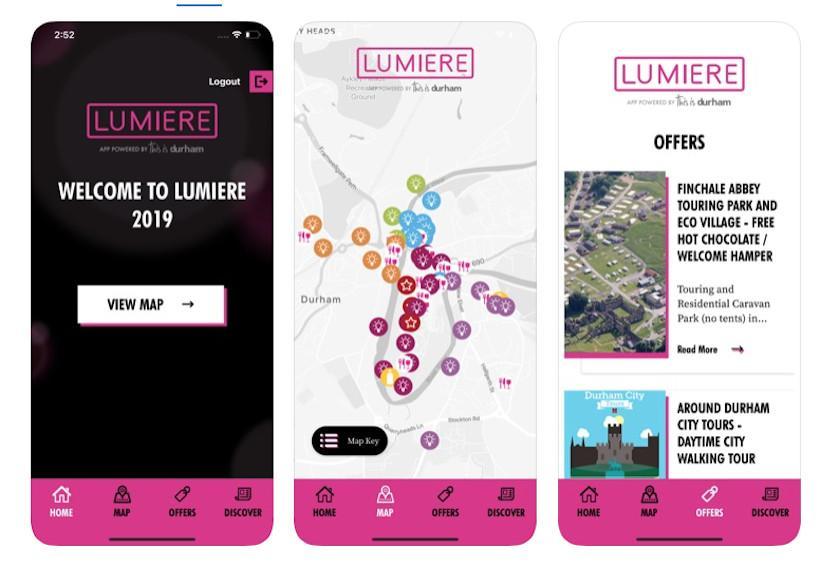 Lumiere Durham app 3