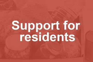 Support for residents
