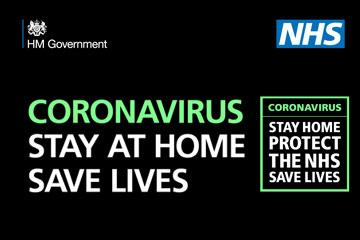 Stay at home, save lives