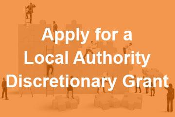 Apply for a Local Authority Discretionary Grant