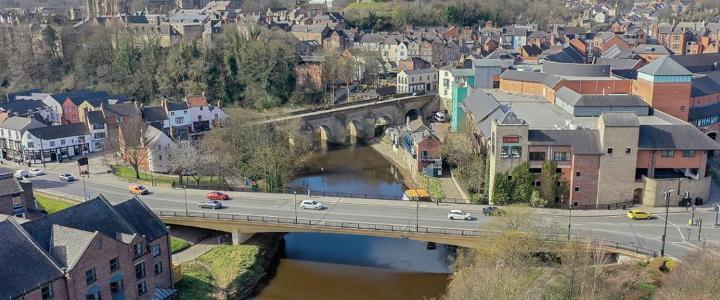 New Elvet Bridge - mobile version