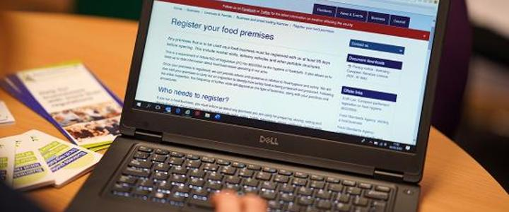 Register your food premises