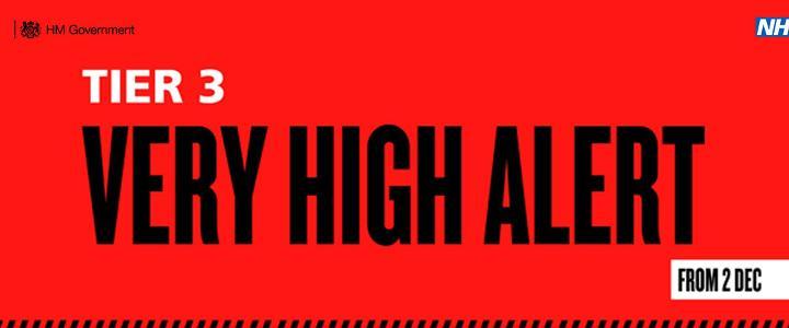 Tier 3 - Very High Alert - mobile version