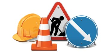 Temporary roadworks at Neville's Cross - 29 and 30 November