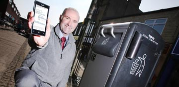 High-tech bins arrive in Consett