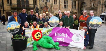 Durham launches Britain in Bloom bid