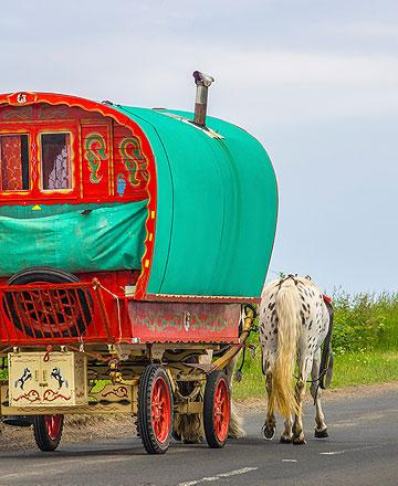 Appleby Horse Fair preparations underway