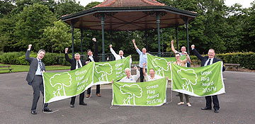 Green flags fly high in County Durham