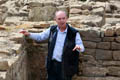 Principal archaeologist Dr David Mason Binchester Roman Fort, July 2015