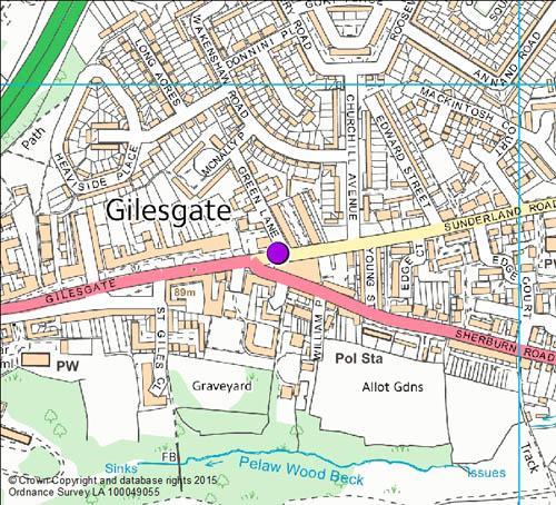Gilesgate Map