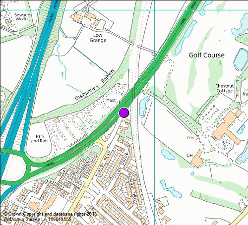 A690 Carrville East Map