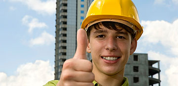 Find out about construction industry opportunities for young people