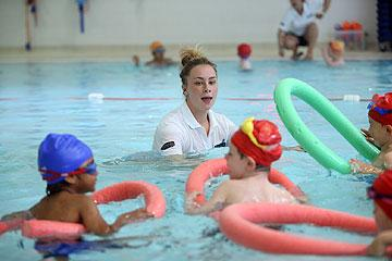 Kids Learn to Swim