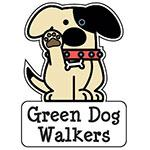 Green Dog Walkers Logo