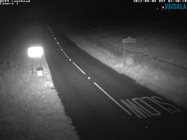 A689 Lanehead weather camera image
