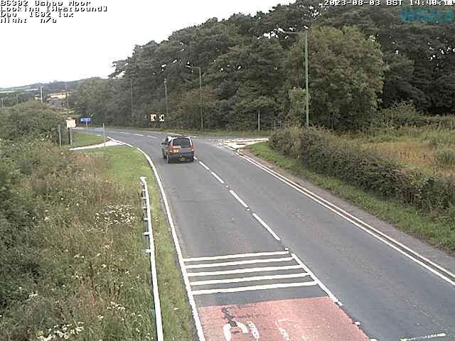 B6302 Ushaw Moor weather camera image