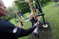 Wharton Park Opening Weekend Outdoor gym workout